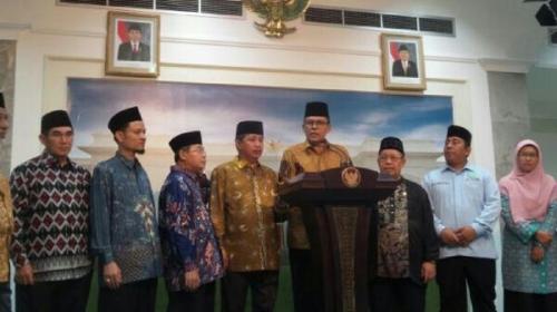 Saat Bertemu Jokowi, 17 Pimpinan Ormas Islam Sebut Negara Ini Gaduh Hanya Gara-gara Satu Orang, Yakni Ahok
