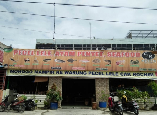 Pecel Lele Cak Rohim, Perintis Panganan Lele di Pekanbaru