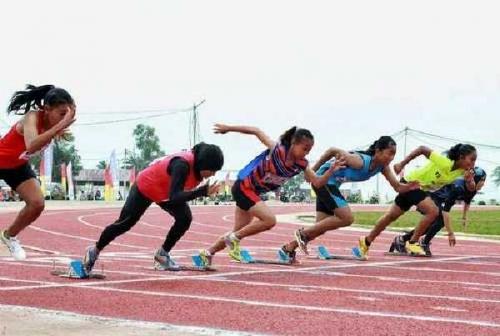 230 Atlet dari 12 Kabupaten/Kota Ikuti Kejurda Atletik 2018 di Rumbai Sport Center