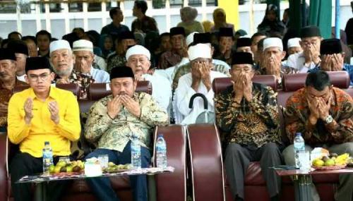 Rakyat Riau Gelar Tasyukuran Bersama Anggota DPD RI Sekaligus Peringati Maulid Nabi Muhammad SAW