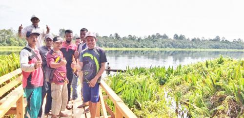 Destinasi Wisata Tasik Anak Penyagun Miliki Pesona yang Memikat Hati Pengunjung