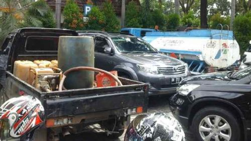 Polda Masih Buru Pelaku Penggelapan BBM Bersubsidi di Rohil
