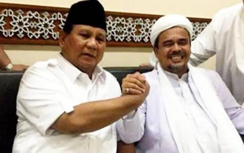 Nasihat Habib Rizieq, Prabowo-Sandi Harus Dimenangkan dengan Cara Islami, Cerdas dan Bermartabat
