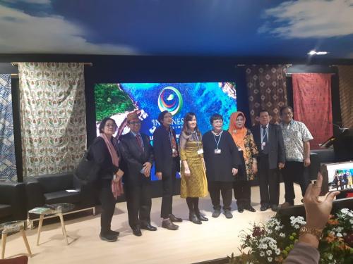 Dosen Unilak Hadiri Konvensi Pavilion UNFCCC Perubahan Iklim di Madrid