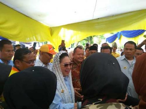 Kunjungi DPW Partai Berkarya Riau, Titiek Soeharto: Target Kita 4 Persen Suara Nasional