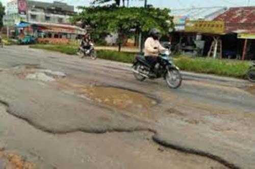 Sekitar 200 Titik Jalan Kota Pekanbaru Rusak, PUPR Pekanbaru Rencanakan Aksi Ini