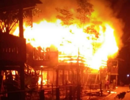 Penjual Cendol yang Baik Hati Itu Tewas Terbakar bersama Putri Kecilnya yang Ingin Diselamatkannya