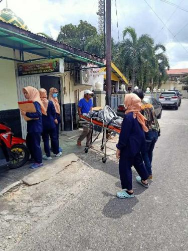 Pergi Mendodos Sawit, Petani Ditemukan Tertelungkup tak Bernyawa di Tenayan Raya