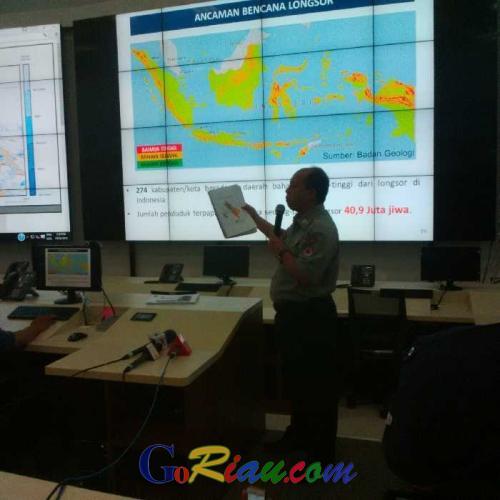 Sutopo: 166 Wilayah Terdampak Banjir dan Tanah Longsor, Korban Meninggal Capai 43 Orang