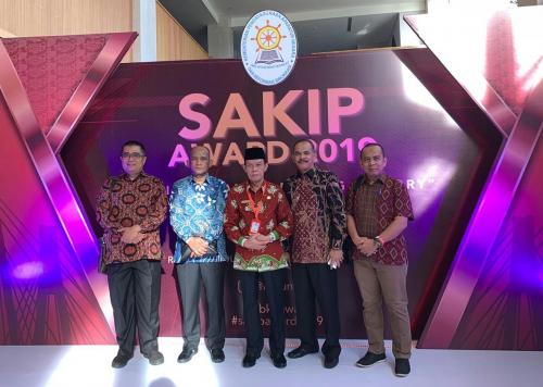 SAKIP Award 2019, Pemkab Pelalawan Raih Predikat B