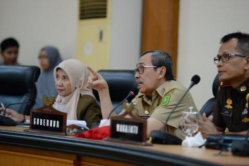 Gubri: 9 Pasien Suspect Corona di Riau Sudah Ditangani dan Dirawat di Ruang Isolasi