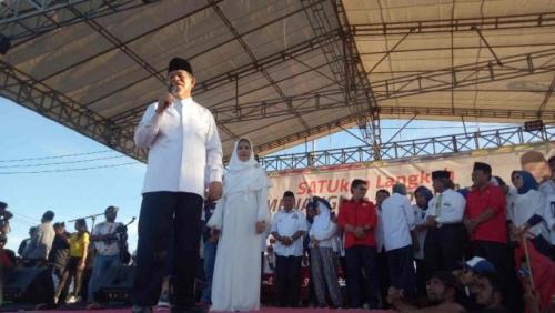 Massa Kampanye Jokowi Tagih Uang Rp50.000 yang Dijanjikan Panitia