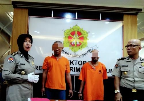 Gasak Mobil Box PT Sampoerna Berisi Rokok Bernilai Miliaran Rupiah di Garuda Sakti Pekanbaru, Dua Rampok Bersenjata Api Dibekuk Polisi