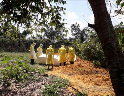 Dosen UIN Suska Riau Berstatus PDP Covid-19 Meninggal Dunia, Pemakaman Dikawal Polantas