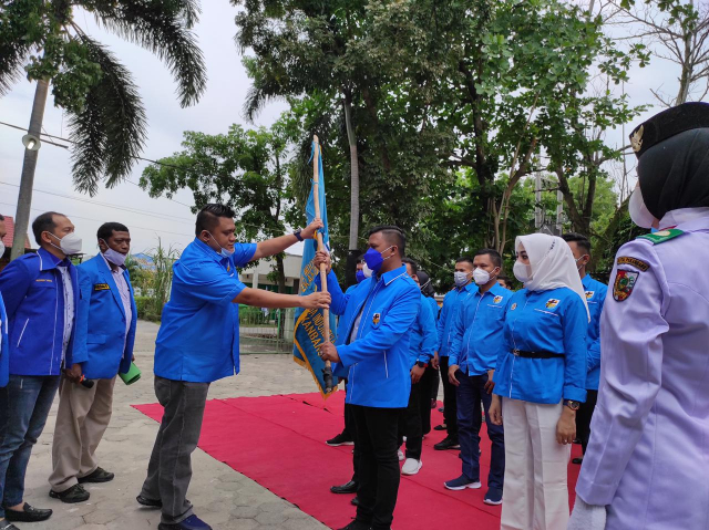 Usai Dilantik, Ketua PK KNPI Binawidya Langsung Gelar Sunatan Massal, Fuad Santoso: Harus Banyak Berbuat