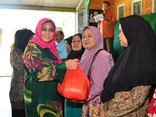 Lima Kecamatan di Pekanbaru Dapat Keberkahan Bulan Ramadan 1440 H dari TP PKK Riau