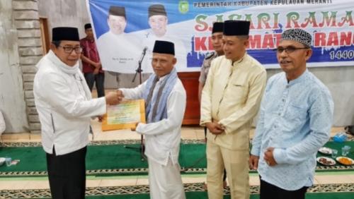 Safari Ramadhan di Rangsang, Sekda Ajak Masyarakat Jaga Kekompakan dan Kondusifitas Daerah