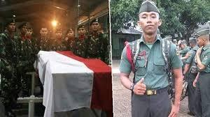 Anggota TNI AD Serda Darma Aji Tewas Dipukul dan Ditusuk 11 Anggota Brimob Gara-gara Tolak Tenggak Minuman Keras