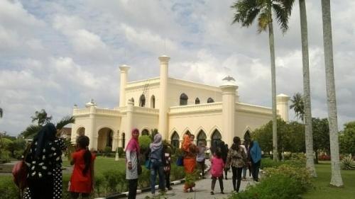 Empat Hari Libur Lebaran, Kota Siak Dikunjungi Lebih dari 81 Ribu Wisatawan