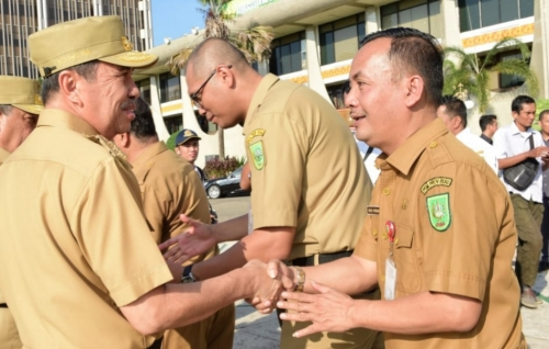Tanpa Keterangan, Sebanyak 508 ASN Pemprov Riau Bolos di Hari Perdana Masuk Kerja