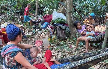 100.000 Orang Mengungsi Akibat Serangan Brutal Tentara Myanmar