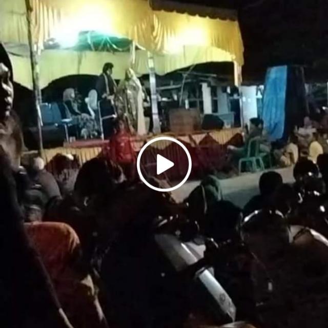 Angka Covid-19 Tinggi dan Pedagang Dibubarkan, Kades di Riau Malah Gelar Pesta Siang Malam