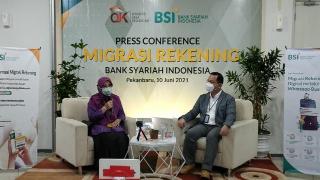 BSI Siap Integrasikan Sistem Operasional Layanan di wilayah Riau