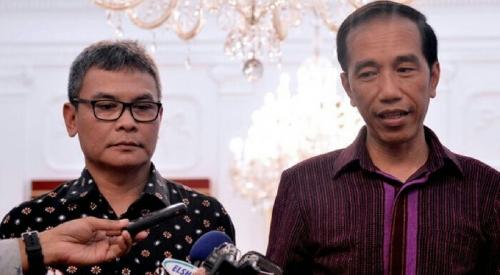 Gories Mere dan Diaz Hendropriyono Akan Diangkat Jadi Staf Khusus Presiden