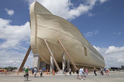 Percaya Banjir Besar akan Hancurkan Bumi, Pria Ini Habiskan Rp1,3 Triliun untuk Bikin Replika Kapal Nuh