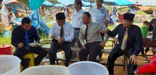 Pasar Modern Bisa Tampung 500 Pedagang, Pemkab Kuansing Targetkan Jadi Percontohan di Riau