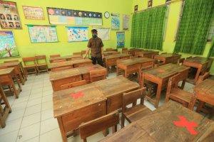 Kasus Covid-19 Masih Ada, Siswa Paud Hingga SMP di Siak Belajar dari Rumah