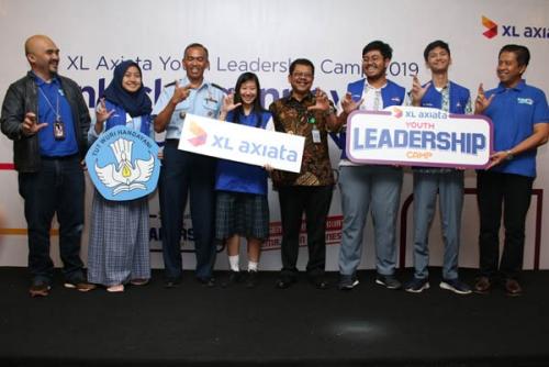 XL Axiata Youth Leadership Camp 2019 Cara XL Axiata Bekali Siswa SMA/SMK Hadapi Revolusi Industri 4.0