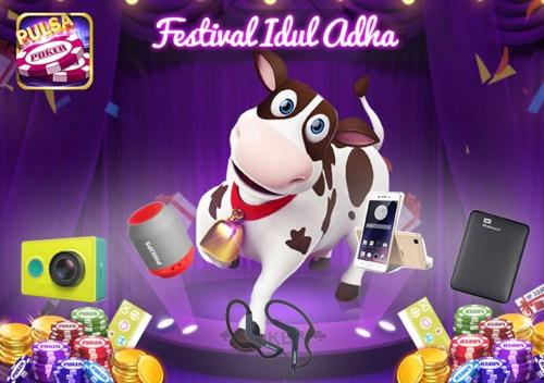 Yuk Ikutan Turnamen Game Festival Idul Adha Poker Time, Hadiahnya Berlimpah Loh...