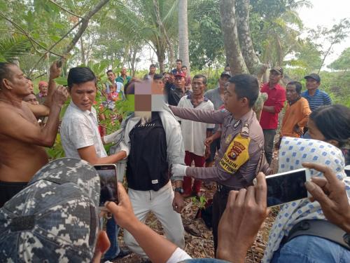 Warga Telesung Kepulauan Meranti Ditemukan Gantung Diri di Pohon Karet
