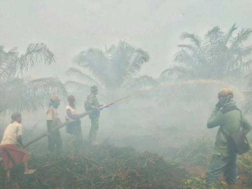 Riau Terpapar Asap dari Provinsi Tetangga