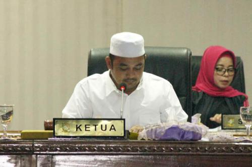 DPRD Kampar Periode 2014-2019 Gelar Rapat Paripurna Usulan Nama Pimpinan