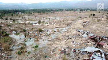 Tanah Amblas Ditelan Lumpur Pernah Terjadi di Palu Sebelumnya, Istilah Lokalnya Nalodo