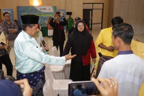 Taja Lokakarya Bisnis Lestari, Bupati Alfedri Harapkan Anak Siak Mampu Mengelola Hasil Hutan