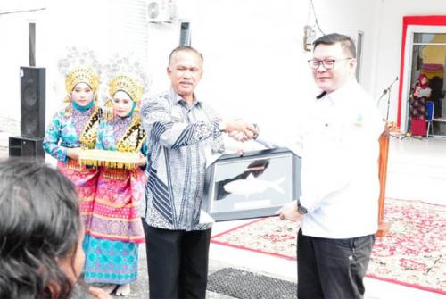 BRG Lakukan Peninjauan Daerah Restorasi Lahan Gambut di Pulau Rupat