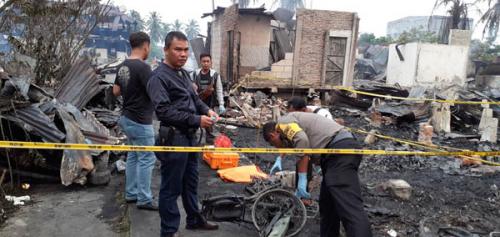 Misteri Kebakaran yang Tewaskan 2 Orang dan Hanguskan 13 Rumah di Rohil Mulai Terkuak