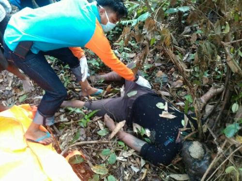 Warga Desa Tajir Inhu Ditemukan Membusuk di Semak Belukar Karena…..
