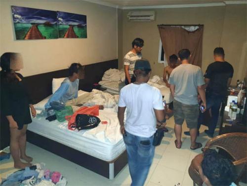 Pesta Ekstasi di Kamar Hotel, 12 Remaja di Pekanbaru Diamankan Polisi