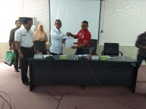 Kuansing Usulkan Rp134,2 Miliar untuk Venue Poprov Riau 2021 ke Kemenpora RI