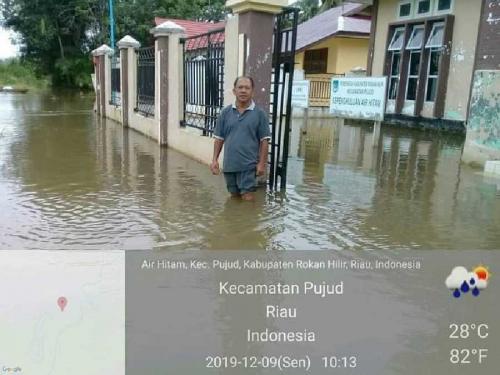245 KK di Air Hitam Pujud Terendam Banjir, Sekolah Diliburkan