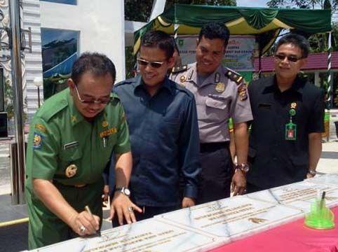 Bupati Bengkalis Kecewa Disiplin PNS Menurun
