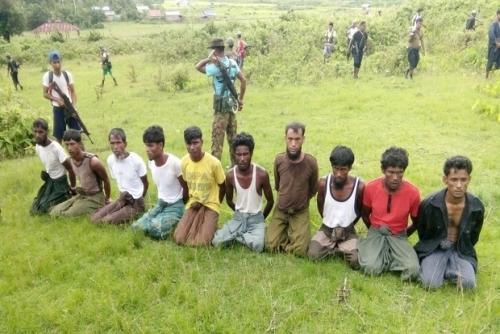 Foto Jurnalis Reuter Ini Bukti Nyata Pembantaian Terhadap Muslim Rohingya di Rakhine