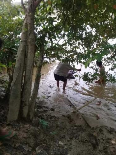Pagi Ini, Warga Inuman Temukan Nenek yang Tenggelam di Sungai Kuantan