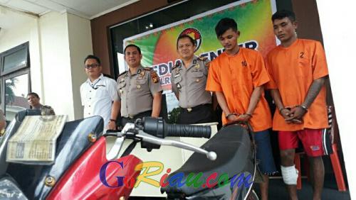Polisi Ringkus Kawanan Jambret yang Beraksi di Kota Pangkalan Kerinci