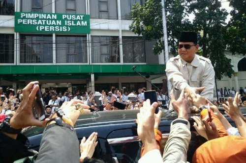 Beredar Kabar Pesawat Prabowo Dilarang Mendarat di Banjarmasin, Angkasa Pura I Membantah