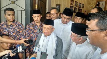 Safari Politik 3 Hari di Sumut, Maruf Amin Klaim Sukses Rebut Suara Prabowo